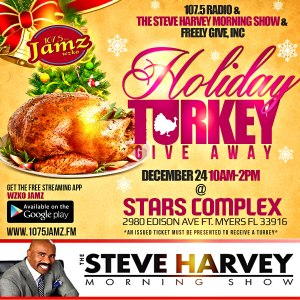 Turkey Give Away Flyer