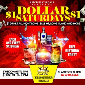 Dollar Saturday Flyer